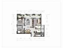 佤山凤城开发商直售,一期星月里3室2厅2卫,毛坯房,采光视野绝佳,无中介费